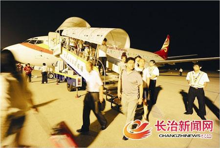 至此,长治至北京的航班达到了每天四班,大大方便了市民进京的需求.