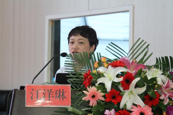 10 天津市眼科医院视光中心视觉训练室主任江洋琳作题为《如何正确选择视觉训练》的精彩讲座.jpg